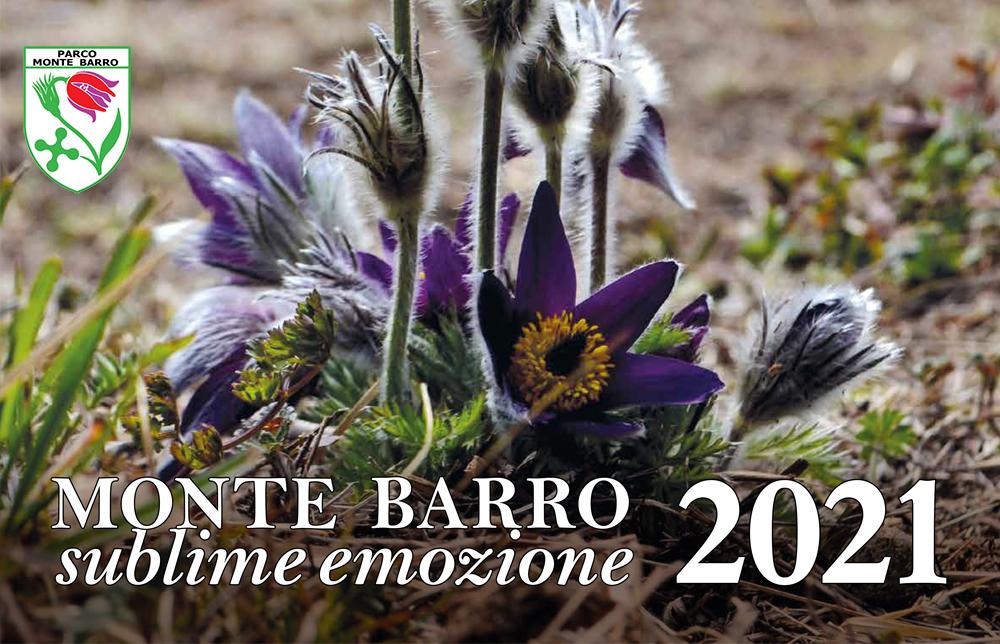 SUBLIME EMOZIONE - Il calendario 2021 del Parco Monte Barro